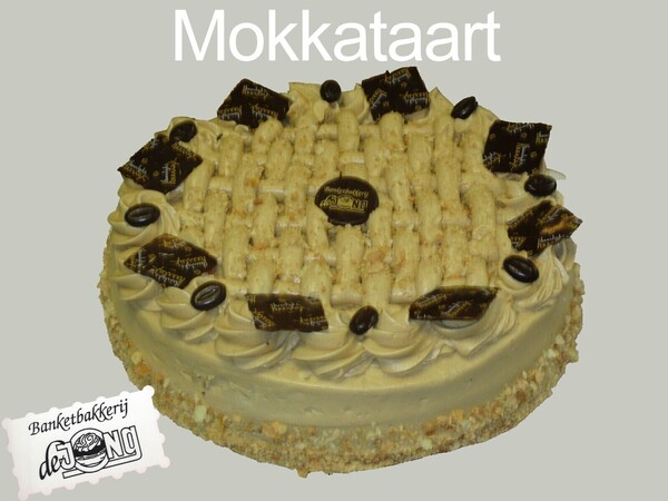 Moccataart rond